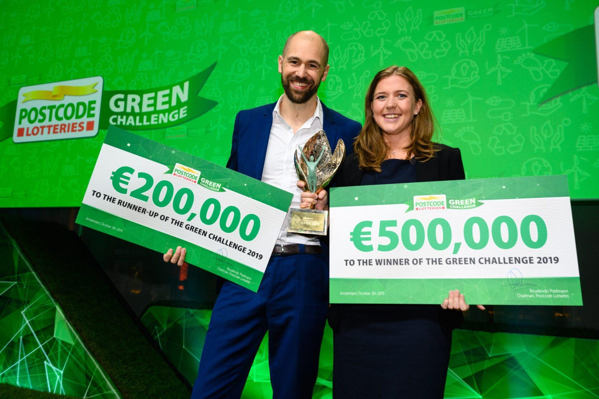 Postcode Lotteries Green Challenge winners