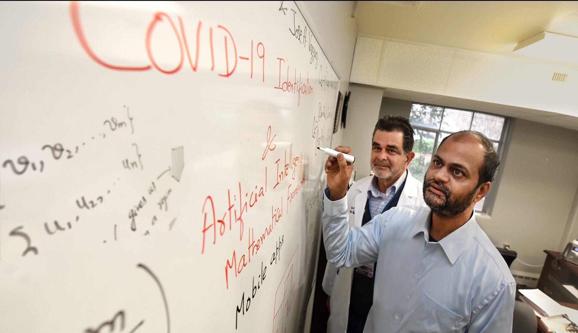 AI coronavirus calculation