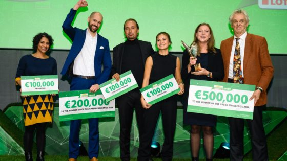 Postcode Lotteries Green Challenge winners