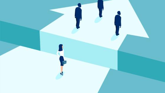image depicting gender inequality