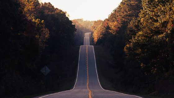 road for vehicle trip